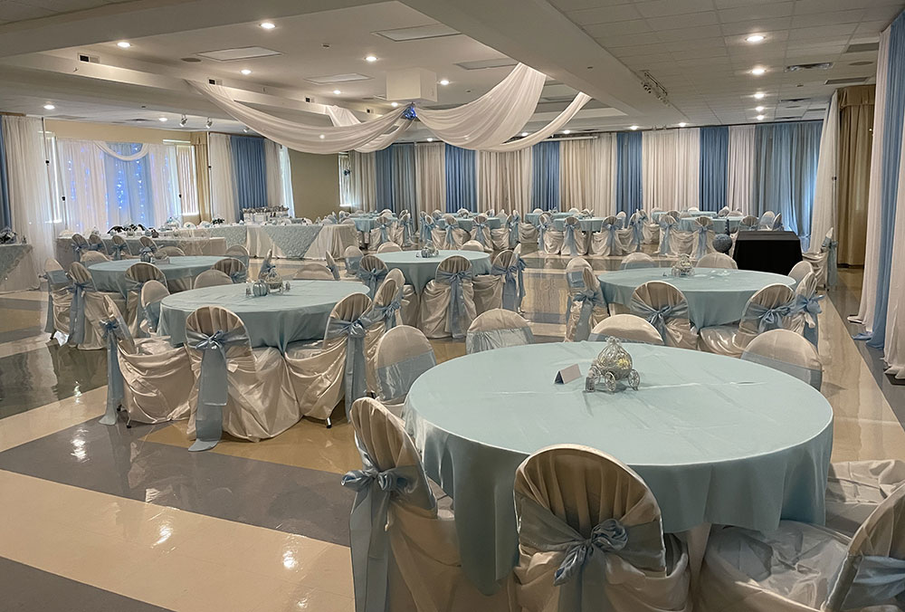 Christopher Hall - Sweet 16 Event - Light Blue styles