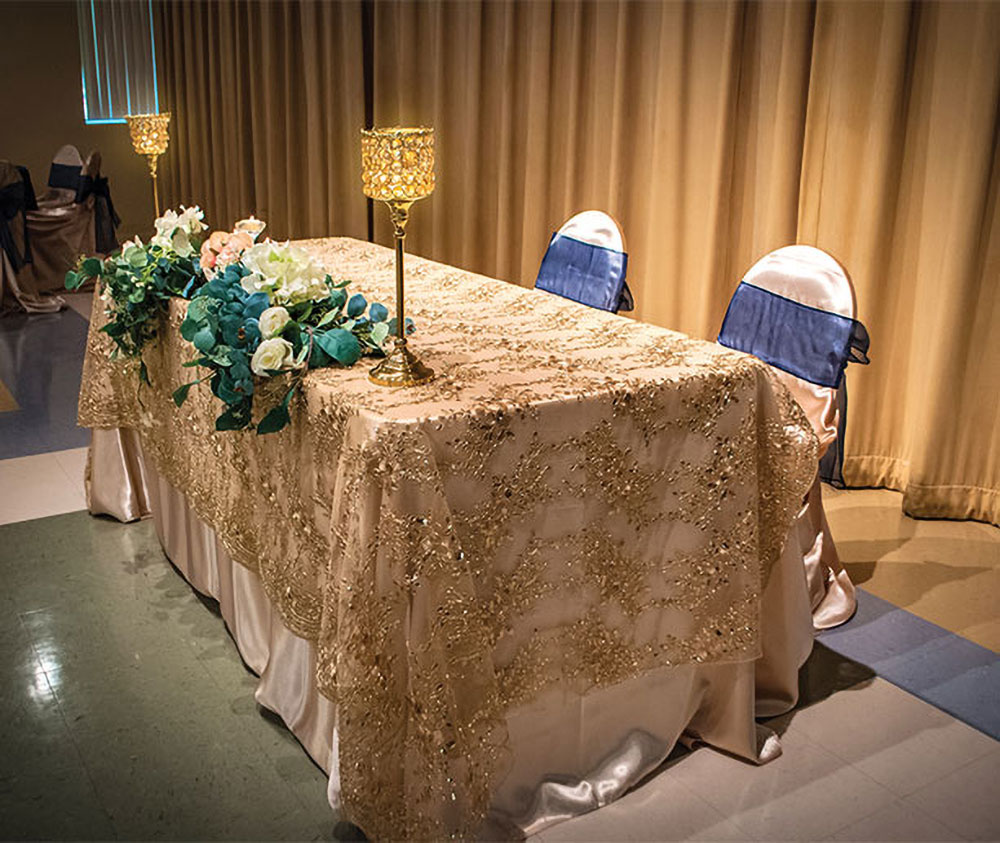 Christopher Hall Wedding Events in San Antonio - choose your own rental company