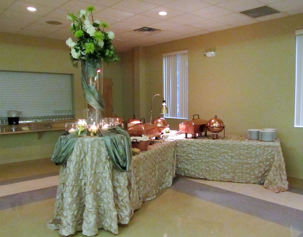 Christopher Hall Wedding Events in San Antonio - choose your own caterer and florists